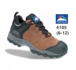 Brown Nubuck Safety Shoe (4105)