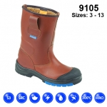 Brown Rigger Boot (9105)