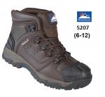Brown Waterproof Safety Boot (5207)