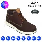 Brown #Urban Nubuck Sneaker Safety Boot (4411