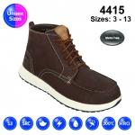 Brown #Vintage Nubuck Sneaker Safety Boot (4415)