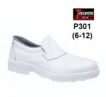 CLEARANCE White Non Safety Casual Shoe (P301)