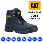 Cat Median Black Safety Boot (7066)
