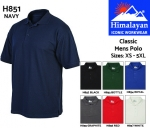 Classic Mens Polo Shirt Red (H856)