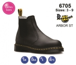 Dr Martens ARBOR ST Black Leather Womens Safety Boot (6705)