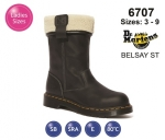 Dr Martens BELSAY ST Black Leather Womens Safety Boot (6707)