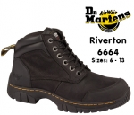 Dr Martens Riverton Black Safety Boot (6664)