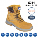 Honey #StormHi Safety Boot (5211)