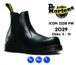 Icon Black Leather Dealer Safety Boot (2029)