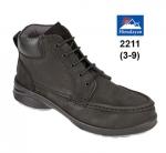Ladies Black Safety Boot (2211)