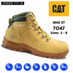 Cat Mae Honey Hiker Safety Boot (7047)