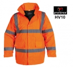 Orange Class 3 Hi Viz Site Jacket (HV10)