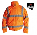 Orange Class 3 Hi Viz Bomber Jacket (HV11)
