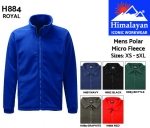 Polar Micro Fleece Royal Mens (H884)