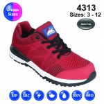 Red #Bounce Safety Trainer (4313)