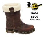 Rosa ST Teak Fur Lined Rigger (6807)