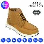 Tan #Vintage Nubuck Sneaker Safety Boot (4416)