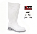 CLEARANCE White Foodworker Wellington (8813)