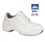 White Microfibre Lace Shoe (9951)