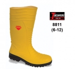 CLEARANCE Yellow Groundworker Wellington (8811)